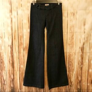 FRANKIE B. low rise trouser jeans size 4 like new